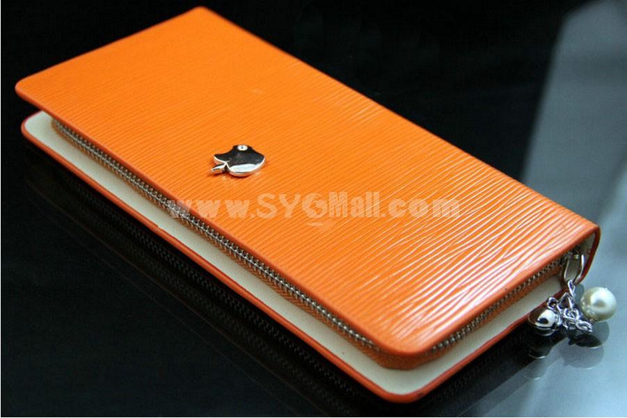 New Stylish Long Pattern Zipper Women Wallet\ Clutch