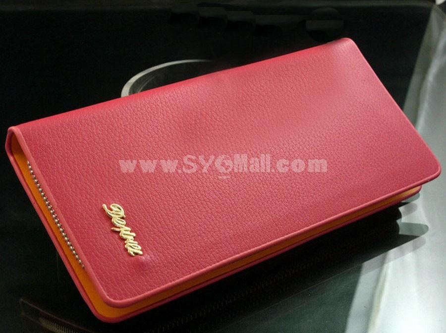Trendy Zip Fashion Women Wallet