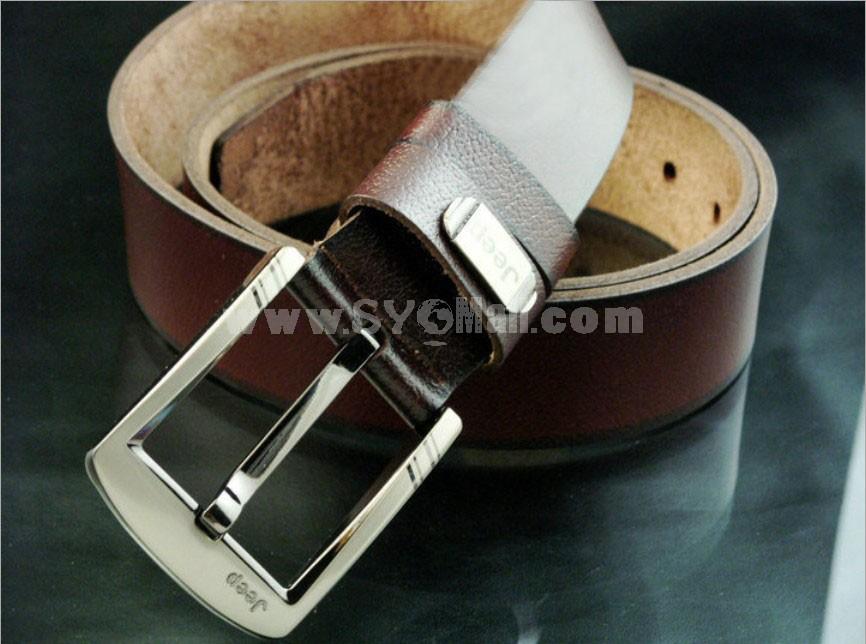 Fashionable Leather Men's Belt