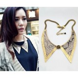 Wholesale - Snake Skin Texture Personalized Alloy Collar (TF42)