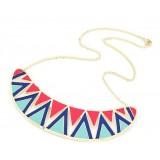Wholesale - Faddish Triangle Alloy Necklace (TF34)