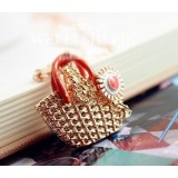 Wholesale - Exquisite Knitting Bag Daisy Pendant Alloy Sweater Chain (TES0046)