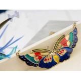 Wholesale - Korea Hot Sale Retro Colour Butterfly (T098)
