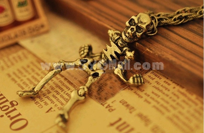 Stylish Skeleton Vintage Sweater Chain (T0140)