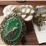 Wholesale - Vintage Peacock Alloy Sweater Chain (TC47)