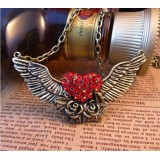 Wholesale - Vintage Angel Wing Alloy Necklace (TB365)