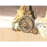 Wholesale - Retro Diamonds Bycicle Alloy Sweater Chain (TF152)
