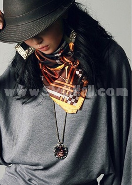 Vintage Leopard Alloy Sweater Chain (TB25)