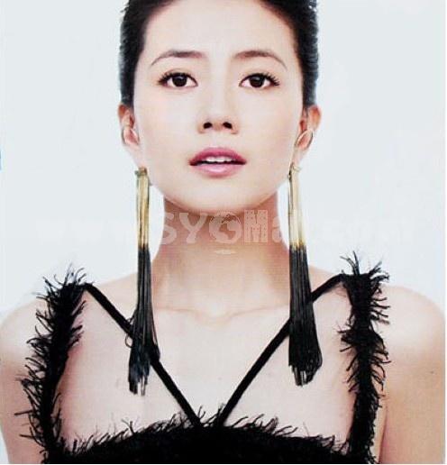 Korea Personalized Cupid Tassels Earring (TK170)