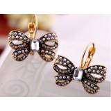 Wholesale - Vintage Pearl Diamonds Butterfly Earring