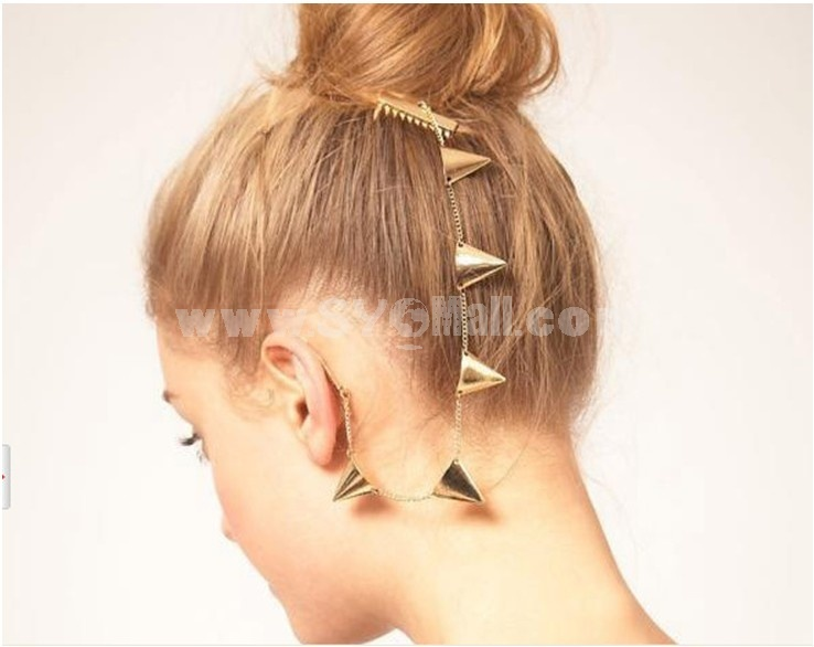 Faddish Punk Alloy Earring