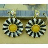 Wholesale - Hot Sale Stylish Elegant Diamonds Flora Earring