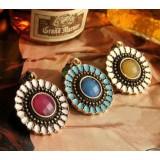 Wholesale - Korea Vintage Colour Diamonds Alloy Earring