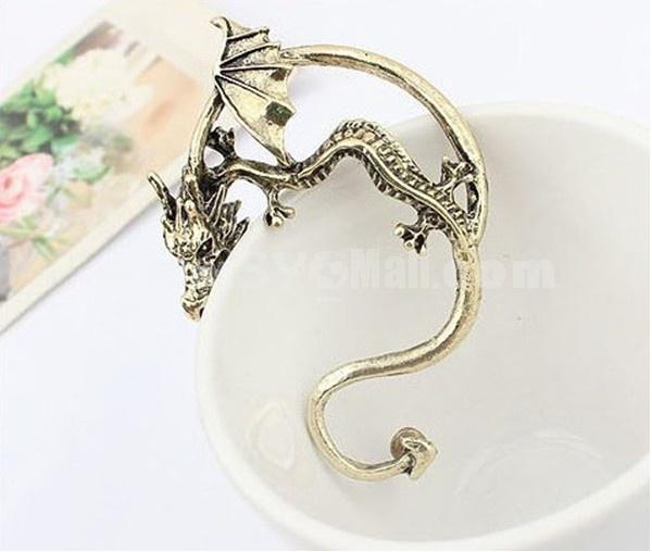 Faddish Vintage Dragon Alloy Earring