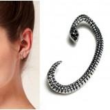 Wholesale - Vintage Snake & Punk Diamonds Alloy Earring