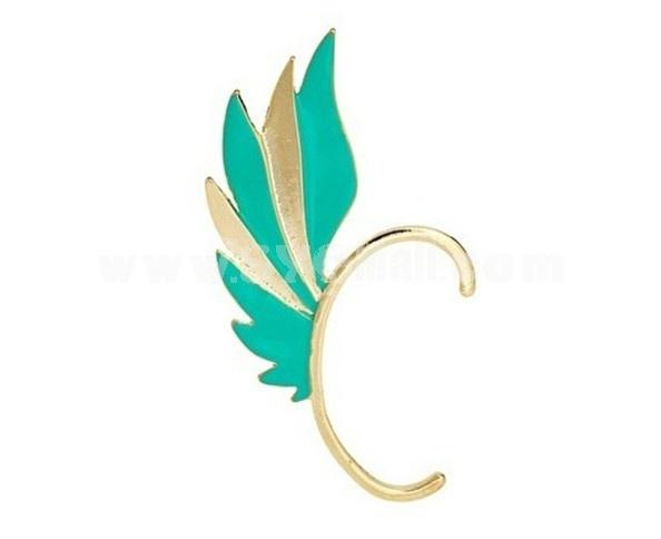 Stylish Alloy Wing Earring