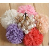 Wholesale - TB36 Korean Style Flower Design Cellphone Pendants\phone chain