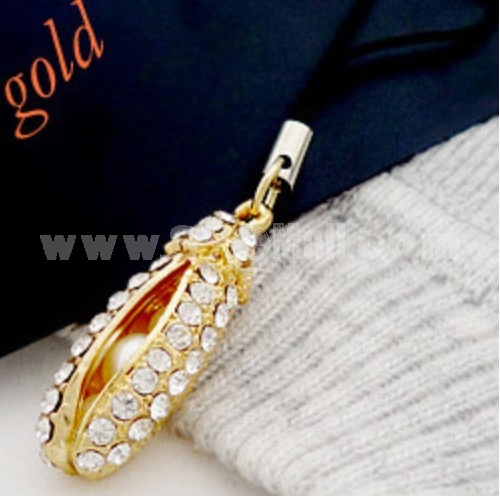 TB365 Fashion Pea Design phone Chains/ Cellphone Pendants