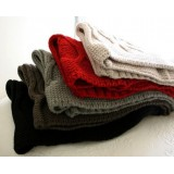 Wholesale - Women's Manual Knit  Multifunctional Wraps