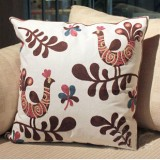Wholesale - Senhot Durable Peacock Square Pillow Shams (Pillowfillow included)
