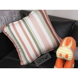 Wholesale - Senhot Fashion Stripe Pattern Cotton Decorative Pillow Cover