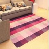 Wholesale - Senhot Elegant Anti Slip Washable Lattice Pattern Cotton Floor Rug(150*200)