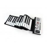 Wholesale - 61 keys Flexible Roll Up soft Electronic Keyboard Piano