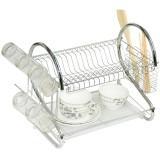 Wholesale - WENBO S Shape Multifunction Two Layed Dish Rack