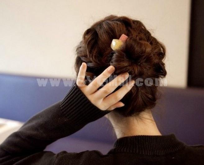 TC01 Korean-style Colorful Hair Tie