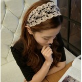 Wholesale - Gorgeous Lace With Rhinestones Wedding Bridal Headpiece/Hair Band