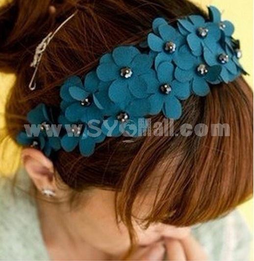 TO104 Hot Sale Korean-style Flower Headband