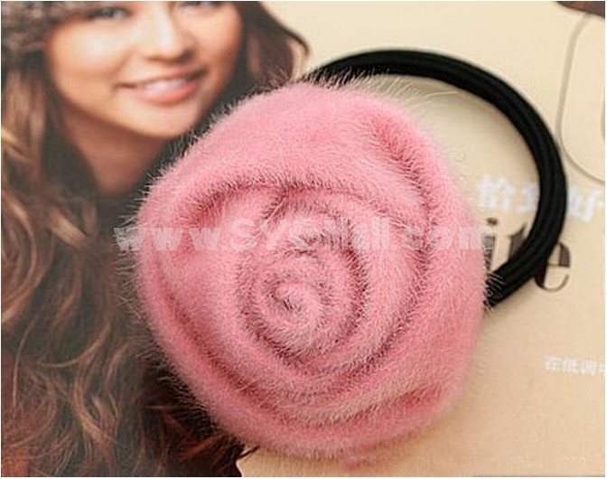 TB160 women's Flower Hair Tie