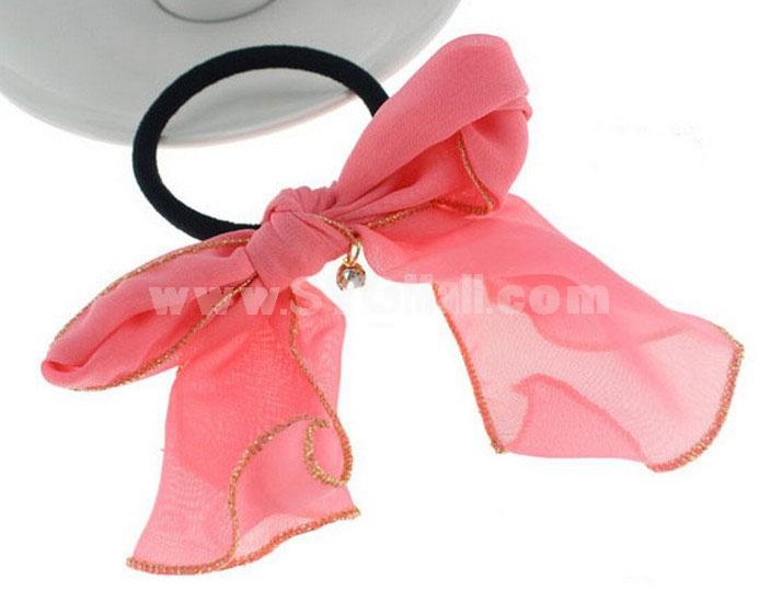 TB69 women's Fashinable Bowknot Hair Tie