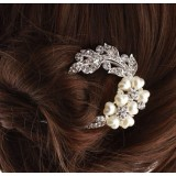 Wholesale - TF2 Korean-style Flower Pearl Hairpin