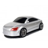 Wholesale - Car Speaker Audi TT Shaped with FM Radio and LED Display, Supports MicroSD Card, High Quality Bass
