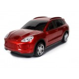 Wholesale - Car Speaker Porsche Cayenne Shaped with FM Radio and LED Display, Supports MicroSD Card, High Quality Bass