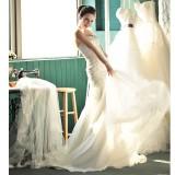 Wholesale - MTF Strapless Sweetheart A-line Mermaid Wedding Dress H6018