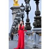 Wholesale - MTF Glamorous V-neck Empire A-line Party Dress L3001