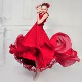 Wholesale - MTF Elegant V-neck A-line Empire Wedding Dress L1269