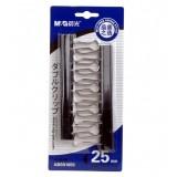 Wholesale - M&G 25mm black binder clip (10 pcs/ctn)