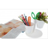 Wholesale - Cute & Simple Asian Multi-Function Spinning Plant Pot - Pencil Holder