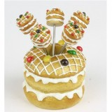 Wholesale - Creative Kitchen Goods Three Layed Cake Resin & Stainless Steel Fruit Fork