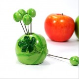 Wholesale - Creative Kitchen Goods Watermelon Resin & Stainless Steel Fruit Fork