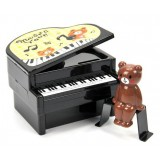 wholesale - Creative Lovely Piano Shaped Piggy Bank