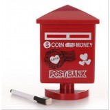 Wholesale - Creative Scrawl Vintage Mailbox Piggy Bank