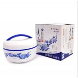 Wholesale - Creative Blue Style Apple Shape Two-layed Insulation Box