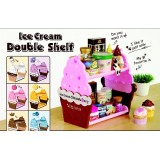 Wholesale - Kitchen Stylish Ice Cream Shape Commidity Shelf