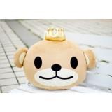 Wholesale - Crown Bear Plush Pillow
