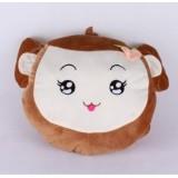 Wholesale - Cartoon Fruit Monkey Hand Warming Stuffed Pillow