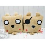 Wholesale - Cartoon Pirates Puppy Hand Warming Stuffed Pillow